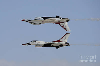The U.s. Air Force Thunderbirds Poster by Remo Guidi