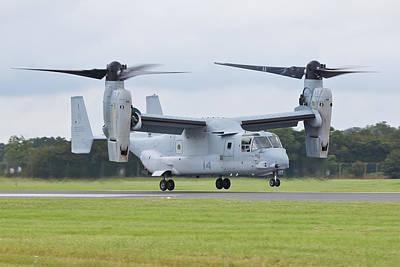 The V-22 Osprey Landing Poster