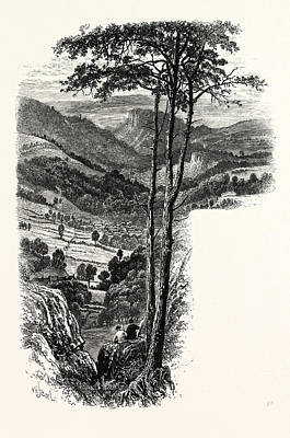The Vale Of Cromford And Matlock, From The Black Rocks, Uk Poster by English School