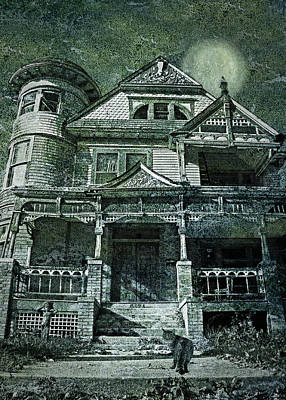 The Victorian On Hawthorne Street Poster by Nikolyn McDonald