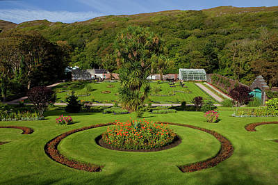 The Victorian Walled Garden, Kylemore Poster by Panoramic Images