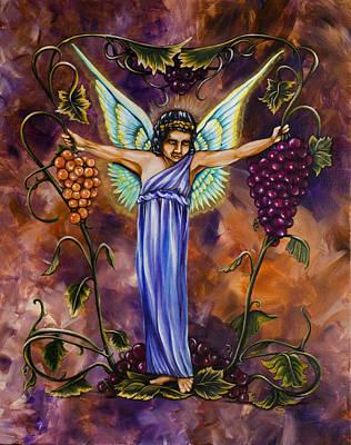 The Vine Dresser Poster by Christine Maeda