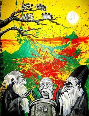 The Vinegar Tasters 2.0 Poster by Jacob Wayne Bryner
