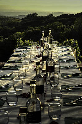 The Vintner's Table Poster