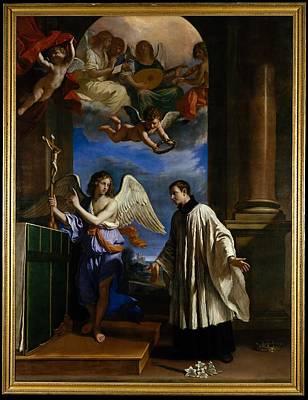 The Vocation Of Saint Aloysius Luigi Poster