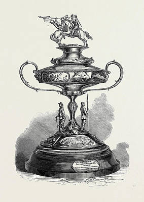 The Warwick Race Cup 1871 Poster