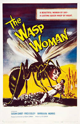 The Wasp Woman, Susan Cabot, 1959 Poster