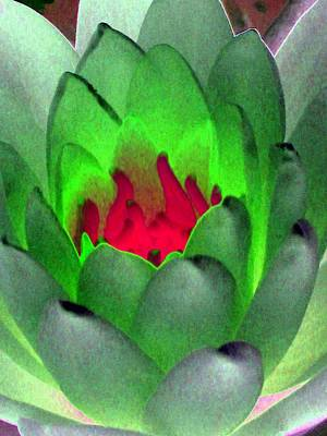 Poster featuring the photograph The Water Lilies Collection - Photopower 1122 by Pamela Critchlow