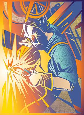 The Welder Poster