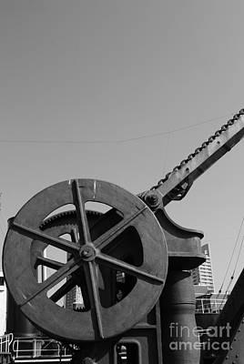 Poster featuring the photograph The Wheel by Maja Sokolowska