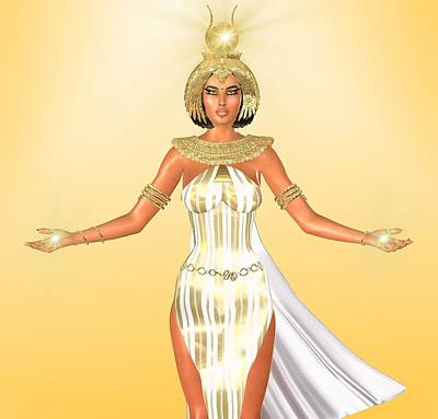 The White Light Of Egypt Poster