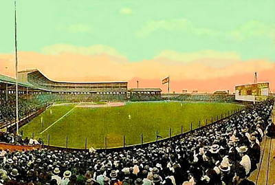 The White Sox Southside Baseball Park In Chicago Il In 1913 Poster