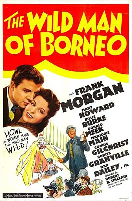 The Wild Man Of Borneo, Us Poster Poster by Everett