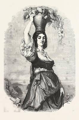 The Winemaker Of Capri Poster by Italian School