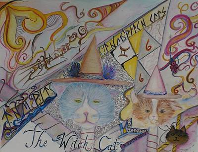 The Witch Cats Poster