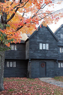 The Witch House Of Salem Poster by Jeff Folger