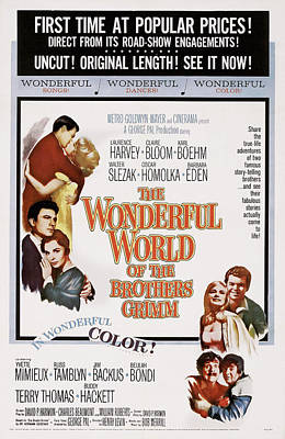 The Wonderful World Of The Brothers Poster by Everett