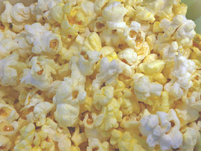 Poster featuring the photograph The World Of Popcorn by Hiroko Sakai