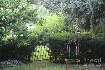 The Wrought Iron Gate Poster by Yvonne Wright
