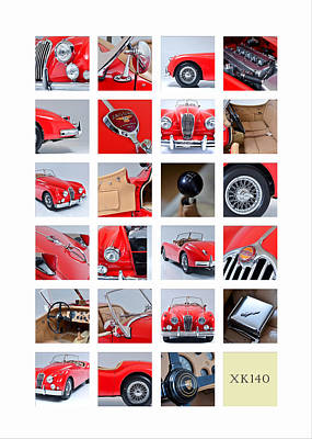 The Xk140 Poster