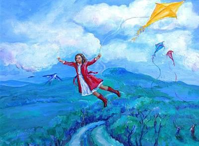 The Yellow Kite  Poster