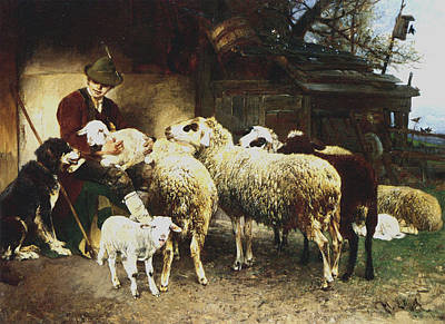 The Young Shepherd Poster