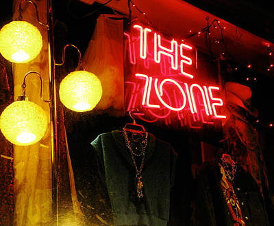 The Zone Poster by Randi Kuhne
