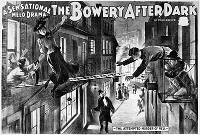 Theater Melodrama, C1899 Poster by Granger