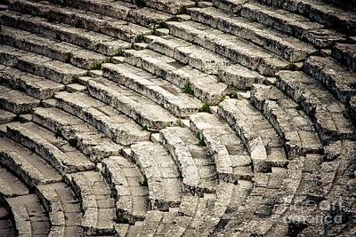 Theatre At Epidaurus Poster by Gabriela Insuratelu