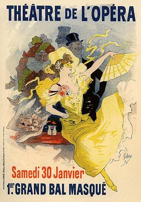 Theatre De L'opera Poster by Gianfranco Weiss