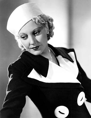 Thelma Todd, 1934 Poster by Everett