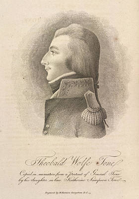Theobald Wolfe Tone Poster by British Library