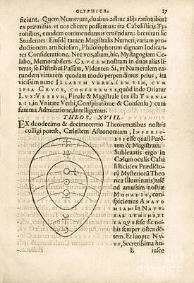 Theorem 18, Monas Hieroglyphica (1564) Poster by Library Of Congress