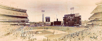 There Used To Be A Ballpark - Shea Stadium Poster