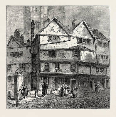 Thieving Lane 1808, London, Uk Poster by Litz Collection
