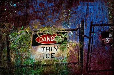 Thin Ice Poster by Rick Mosher
