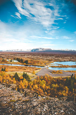 Thingvellir Iceland Poster by Mirra Photography