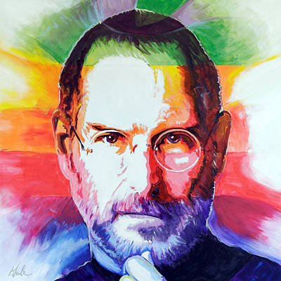 Think Different Poster by Steve Gamba