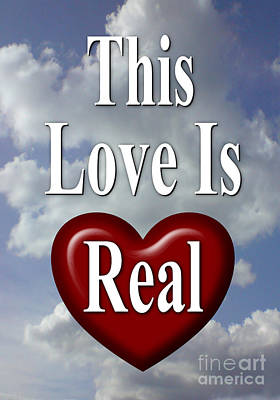 This Love Is Real Poster