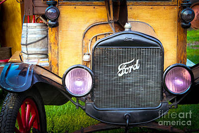 This Old Ford Poster by Colleen Kammerer
