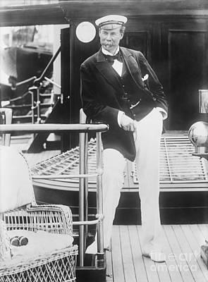 Thomas Lipton, Scottish Yachtsman Poster