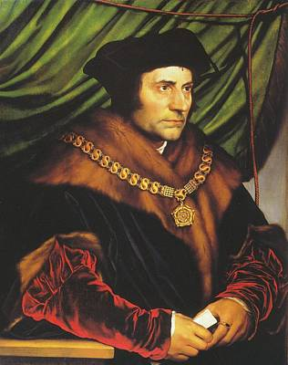 Thomas Moore Poster by Hans Holbein the Younger