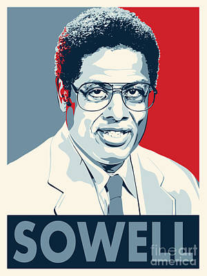 Thomas Sowell Poster by John Lehman