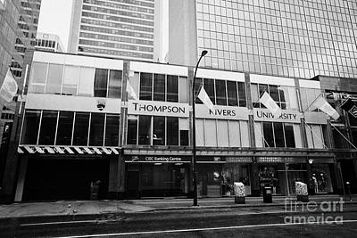 Thompson Rivers University Vancouver Bc Canada Poster