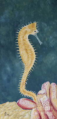 Thorny Seahorse Poster by Christiane Schulze Art And Photography