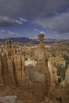 Thor's Hammer Vertical Bryce Canyon Poster
