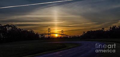 Thousand Islands Bridge At Sunset Poster