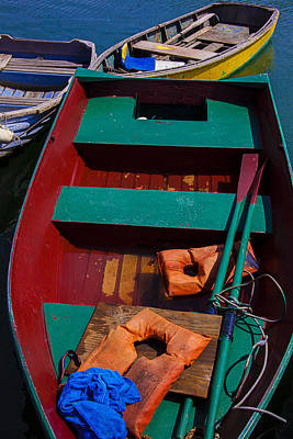 Three Boats Poster by Garry Gay