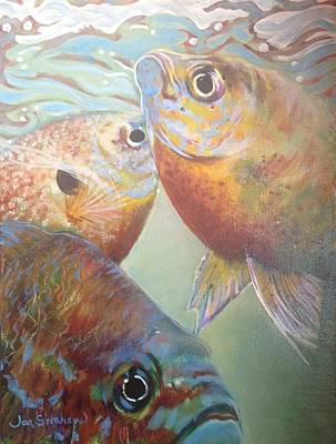 Three Fish Poster