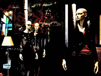 Three Models  Poster